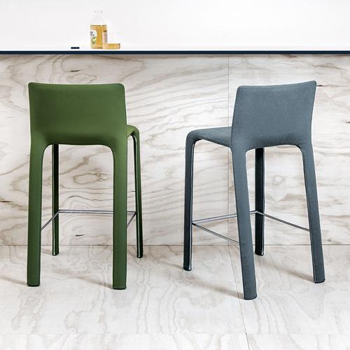 moderner Barstuhl / Polster / Stoff