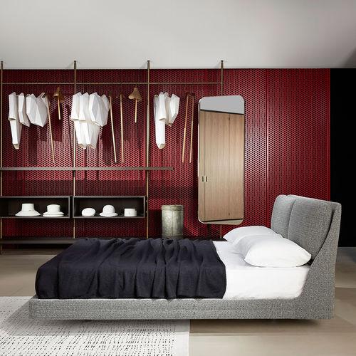 Doppelbett / modern / Polster / Kopfteil