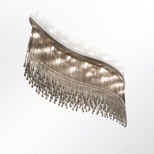 moderne Deckenleuchte / Muranoglas / mit Swarovski® Kristall / LED