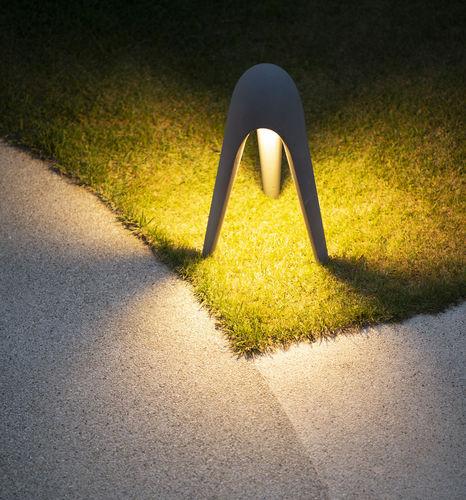Bodenlampe / modern / Zement / LED