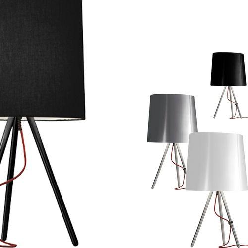 Tischlampe / originelles Design / Stoff / Innenraum