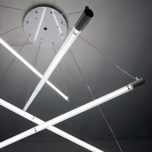 Hängelampe / originelles Design / Polycarbonat / Innenraum
