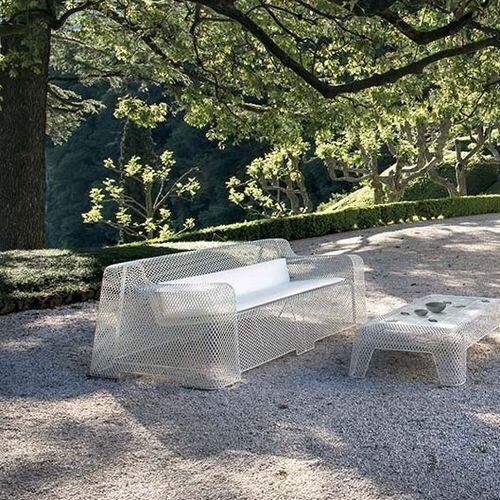 modernes Sofa / Garten / Netz / Stahl