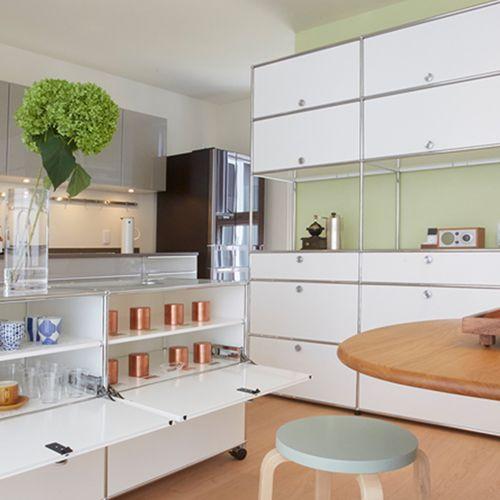 Gartenküche-Schrank