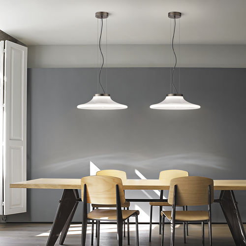Hängelampe / modern / Glas / LED
