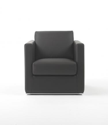 moderner Sessel / Baumwolle