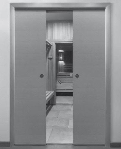 Tür-Schiebetürbeschlag / Holz