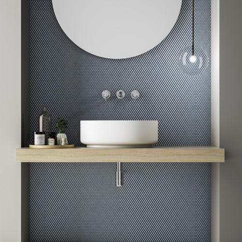 Aufsatzwaschbecken / rund / aus Corian® / modern