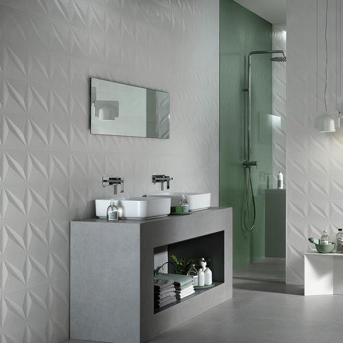 Innenraum-Fliesen / Wand / Keramik / rechteckig