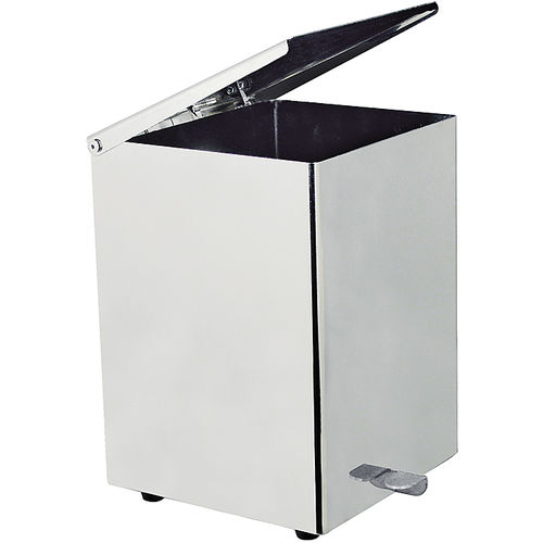 Badezimmer-Abfallbehälter / Metall / pedalbetrieben