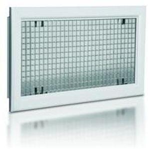 Aluminium-Lüftungsgitter / rechteckig