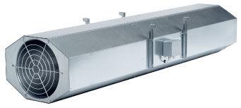 Axialventilator / für Deckenmontage / für professionellen Gebrauch / Aluminium