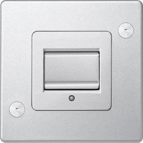 Drucktaster-Schalter / Aluminium / modern / unzerstörbar