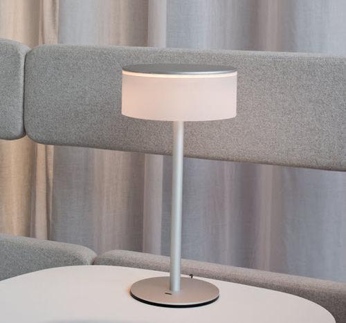 Bürolampe / modern / Stahl / aus Acrylglas