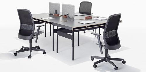 Schreibtisch für Open Space / Laminat / modern / Objektmöbel