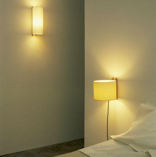 moderne Wandleuchte / aus Buche / LED / Kompaktleuchtstoff