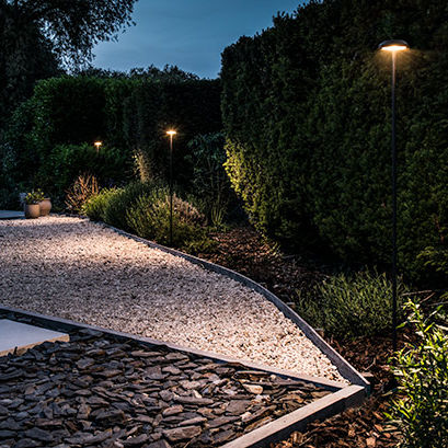 Garten-Leuchtpoller - BEL-LIGHTING / TERZO-LIGHT