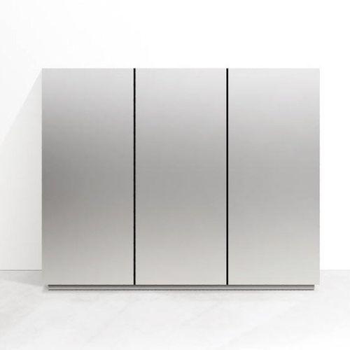 moderner Lagerschrank für Küchen / Aluminium
