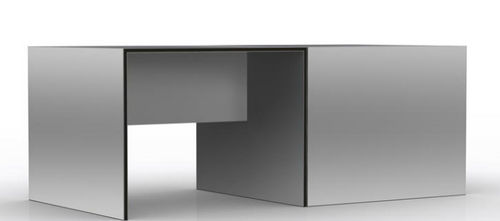 Aluminium-Schreibtisch