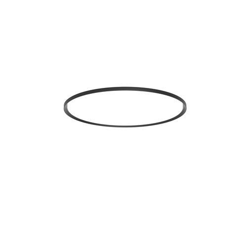 moderne Deckenleuchte / rund / Aluminium / aus Acryl
