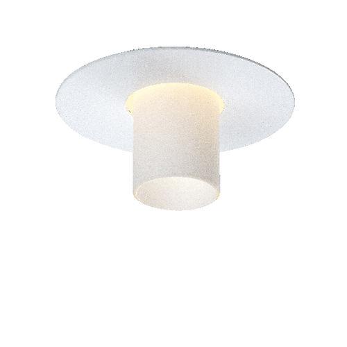 Einbaudownlight / LED / rund / Glas