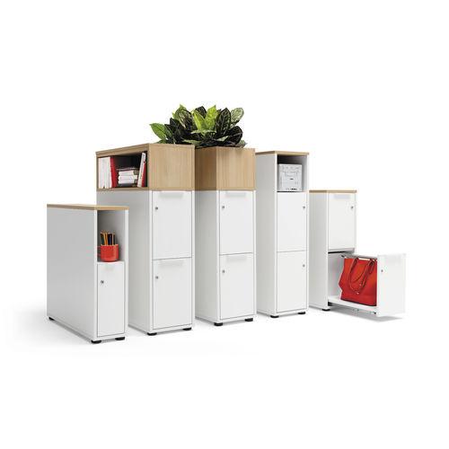 Holz-Büroschubladenschrank