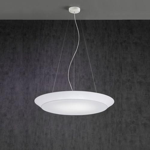 Hängelampe / modern / Leinen / LED