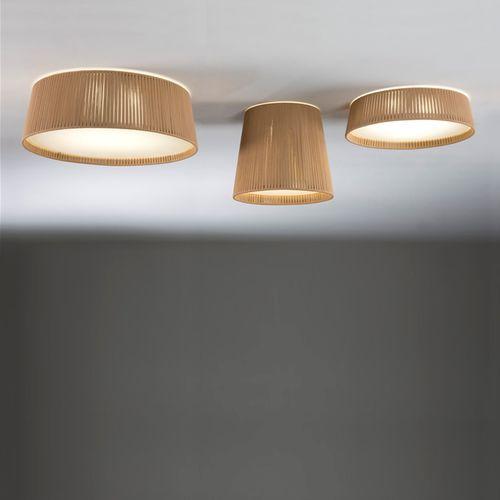 moderne Deckenleuchte / rund / Kordel / LED