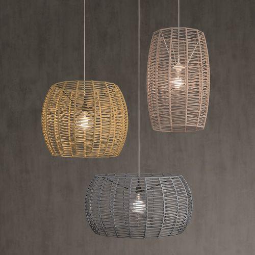 Hängelampe / originelles Design / Metall / Kordel