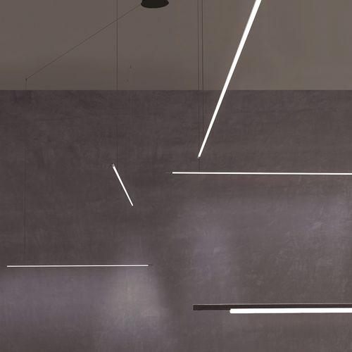 Hängelampe / modern / Aluminium / Polycarbonat