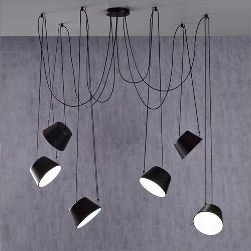 Hängelampe / modern / Metall / aus Acryl