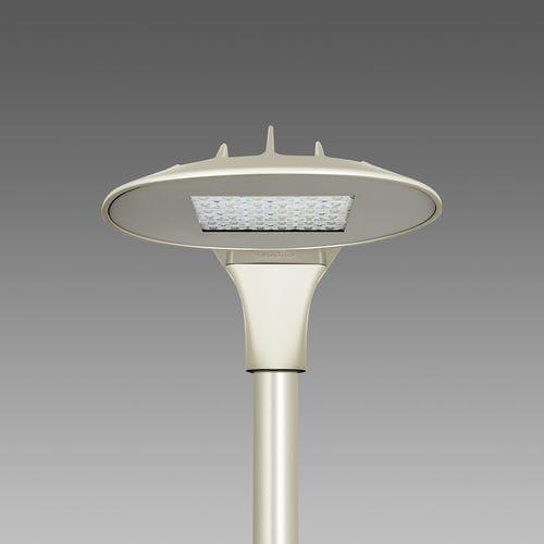 Straßenlaterne / modern / Aluminiumguss / mit Diffusor aus Hartglas