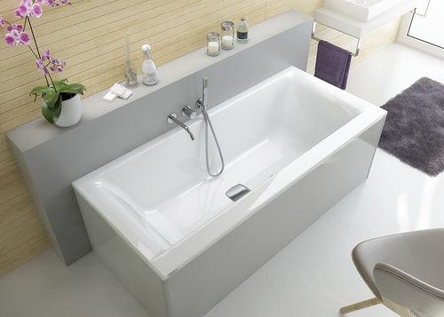Freistehende Badewanne Ikaria 3807 Hoesch Aus Acryl Weiss