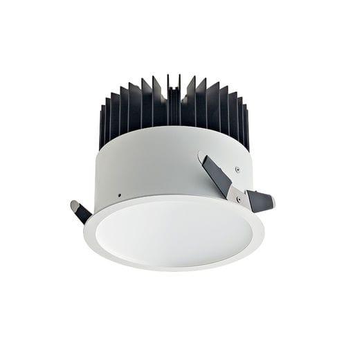Einbaudownlight / LED / rund / quadratisch