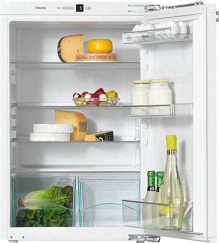 kompakter Kühlschrank / weiß / Einbau