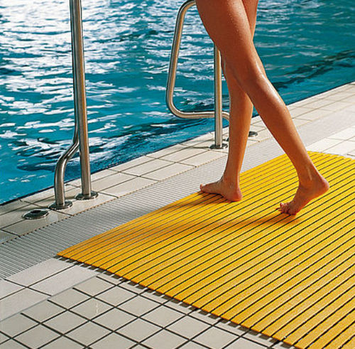 PVC-Gitterrost / für Duschen / für Pool / für Innenausbau