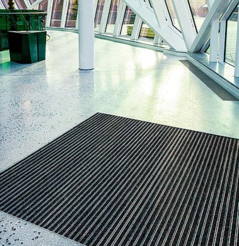Eingangsmatte für öffentliche Einrichtungen / Polypropylen / Aluminium / Schmutzfang