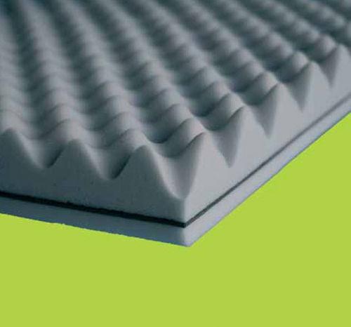 Isolierung zur Schalldämmung / aus Melaminschaum / Innenbereich / steife Platten