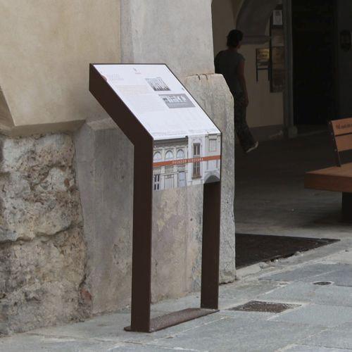 Infotafel für öffentliche Bereiche