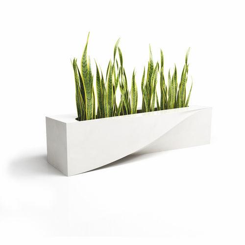 Pflanzkübel / verzinkter Stahl / Verbundwerkstoff / originelles Design / für öffentliche Bereiche