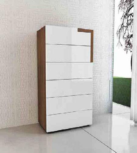moderner Chiffonnier / Holz / weiß