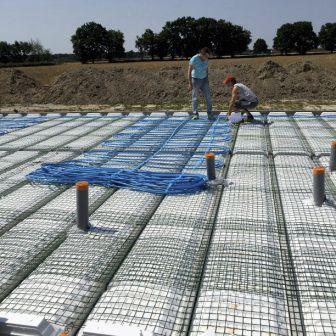 Hohlkörper-Zwischendecke / Beton / Zwischenbauteil Isoliermaterialen