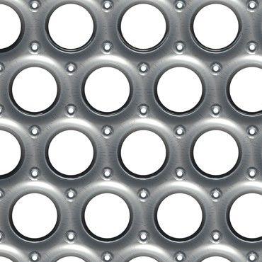 Metall-Gitterrost