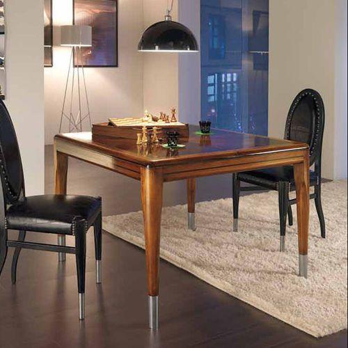 klassischer Tisch / aus Kirschbaum / aus Palisander / rechteckig