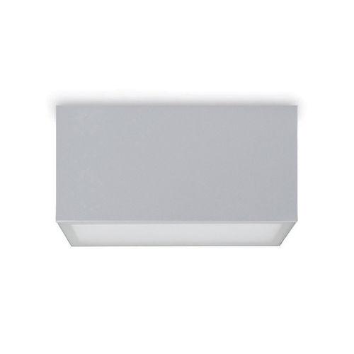 moderne Deckenleuchte / rechteckig / Aluminium / LED