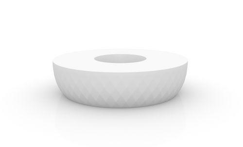 Polyethylen-Pflanzkübel / rund / modern