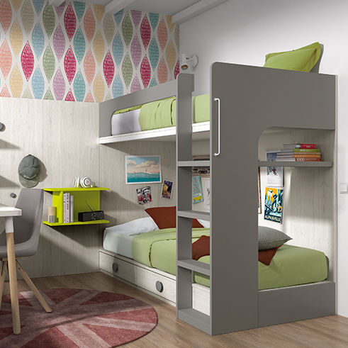 Etagenbett / Doppelbett / modern / für Kinder