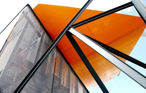 Gewobenes Metall / für Fassaden