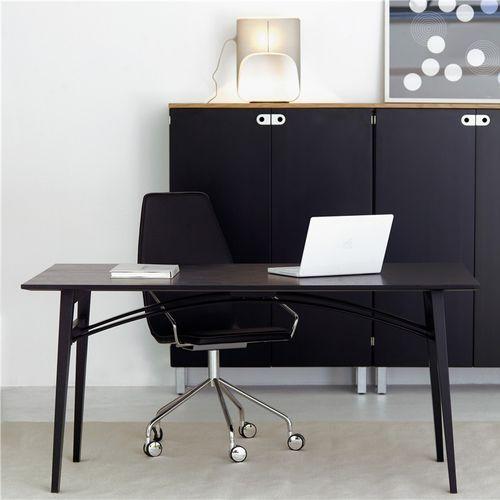 Schreibtisch aus Eiche / aus Esche / aus Birke / modern