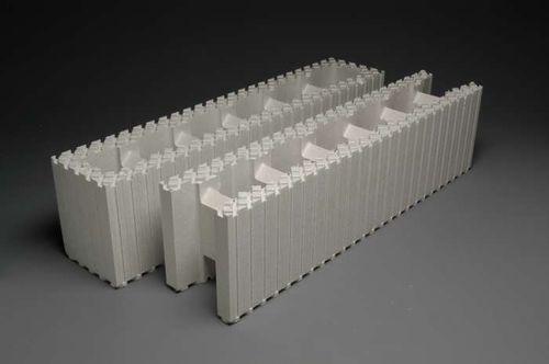 Schalungsstein aus expandiertem Polystyrol EPS